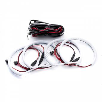 EPR18 RINGI COTTON LED BMW E36 E38 E39 E46 Z SOCZEWKĄ PRZED FACELIFTINGIEM