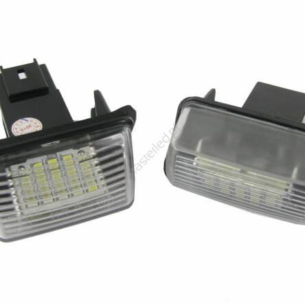 Podświetlenie Tablicy Rejestracyjnej Ep32 Citroen Peugeot